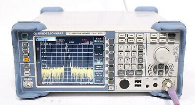 Rohde Schwarz Fsl6 9khz - 6ghz Spectrum Analyzer 1300.2502.06