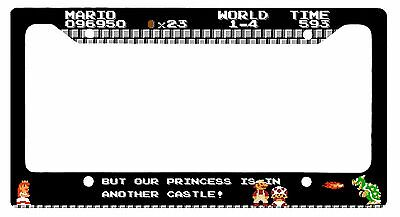L@@K! 8 bit Super Mario Princess is in Another castle Peach Bowser Old School