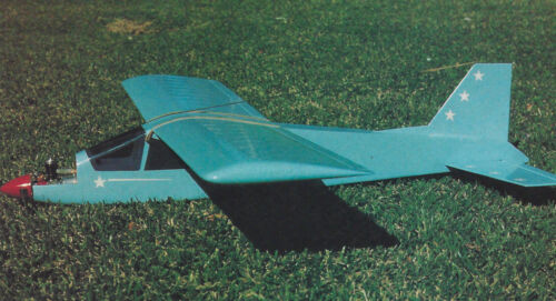 1/2A Aerobatic Super Sport Trainer Airplane Plans,Templates & Instructions 33ws