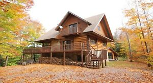 Chalet a louer spa bord de lac cottage cabin for rent