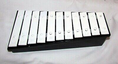 11 Ton Glockenspiel (schwarz)