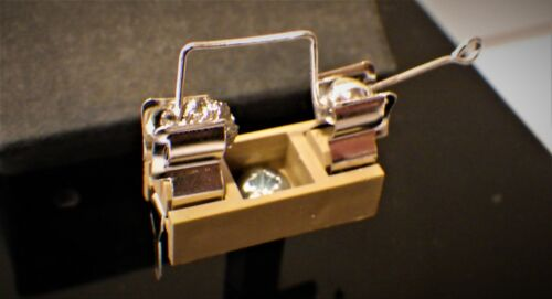 Crystal Radio detector holder and Cat
