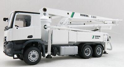 Conrad 78225-0 Mercedes Benz Arocs Truck with Schwing S36X Concrete Pump 1:50