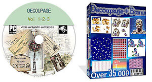 Decoupage + Card Verses + Card Making + Scrapbooking Over 35 000 Items On 1 DVD