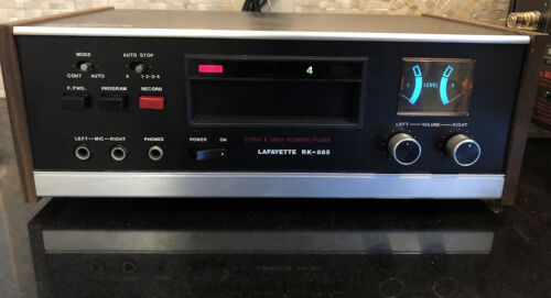 Mint Lafayette RK-885 Stereo 8 Track Recorder Player Vintage Audiophile