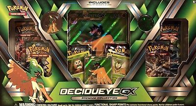 Pokemon TCG: Sun & Moon Guardians Rising Decidueye Premium GX Box