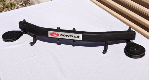 BOWFLEX Upper Lat Cross Bar with Pulleys and Hooks and Attachment Bolts