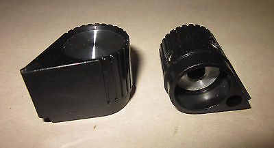 """EHC Control Knobs Part number 27-00639-0 Black Knob with White Line 1//4/"""" NOS"""