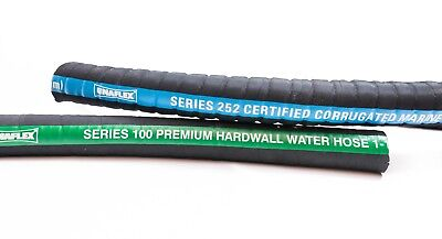 "4/"" inch ID MARINE WET EXHAUST HOSE HARDWALL WIRE REINFORCED per inch"