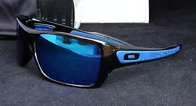 oakley turbine sunglasses black  new oakley 9263 05 turbine sunglasses black ink / sapphire iridium lenses
