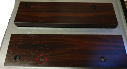 SONY ES Series WOODEN (Rosewood) side panels Vintage Original Rare 3 sizes