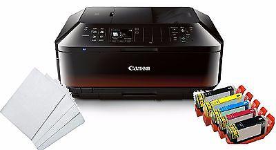 Edible Canon MX922 Wireless Printer Bundle With 5 Edible Ink 100 Wafer Sheet