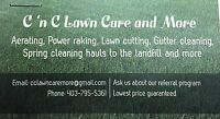 C&C Lawn Care and More