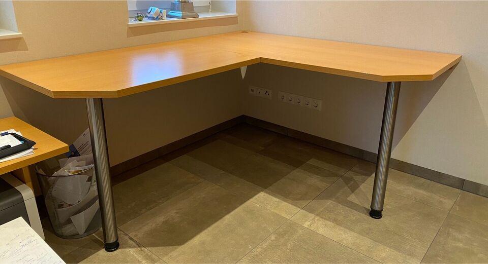 Büro Büromöbel Büroeinrichtung Schreibtisch Schrank massiv in Löningen