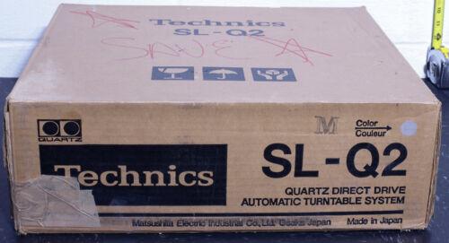 Technics SL-Q2 TURNTABLE automatic direct drive ORIGINAL BOX w Shure Pro-6