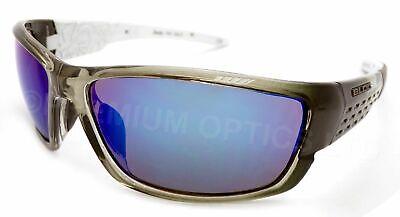 BLOC Gafas de Sol Delta Cristal Negro con Azul Lentes Espejadas X46