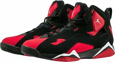 Nike Air Jordan Men's True Flight Shoes Black Red BRED CU4933-001 Men's NEW