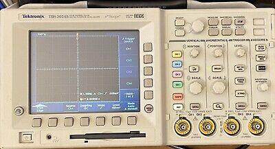 Tektronix Tds3054b Oscilloscope 500 Mhz 5.0 Gss Color Tds3gv Gpibrs-232vga