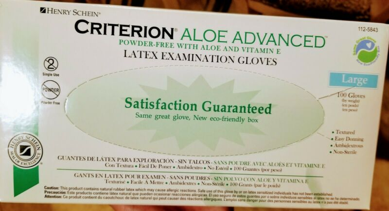 Criterion Latex Gloves Large 100