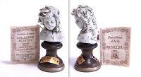 Statuina Scultura In Porcellana Busto Bambina Limited Edition 38/500-g. Visentin - limited - ebay.it