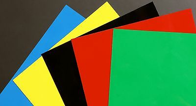 Dry Erase Magnet Sheets 9x12 5-sheets Colors Made In Usa