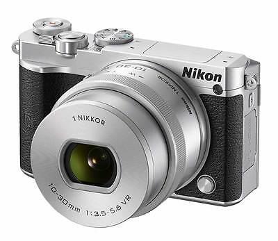 [X-MAS] Nikon 1 J5 Mirrorless Digital Camera with 10-30mm Lens - Silver