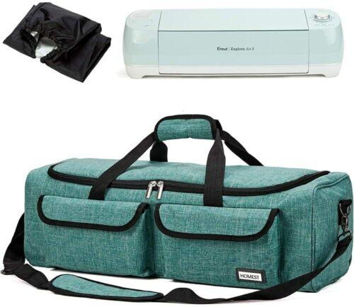 Carrying Case Compatible w/ Cricut Explore Air 2, Cricut Maker, Silhouette Green