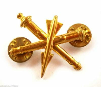 Vintage  Military Insignia Air Defense Artillery Branch Mens Vintage Jewelry