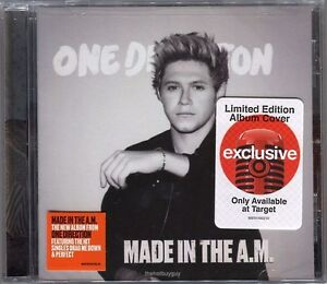 One Direction Made in the A.M. CD Limited Edition Niall Horan Cover