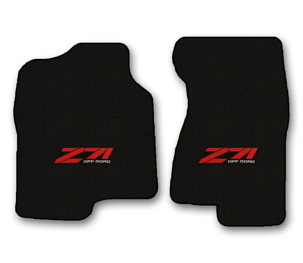 ::Silverado Classic Loop Carpet Floor Mats - Choice of Color & Logo - Z71 & Bowtie