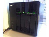 QNAP TS-412 TurboNAS 4-Bay 8TB Installed RAID5 Network Attached Storage Server