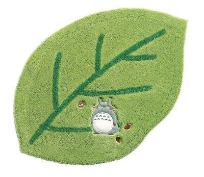 My Neighbor Totoro Leaf shape Accent Mat Rug Cute 46×70cm Green Studio Ghibli