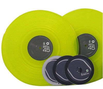 Intimidation iScratch Mixlive Replacement Timecode DVS Vinyl Green