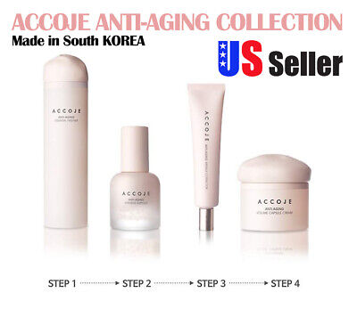 ACCOJE Best Korean Natural Skin Care Anti Aging Products [Made in (Best Natural Anti Aging Skin Care Products)