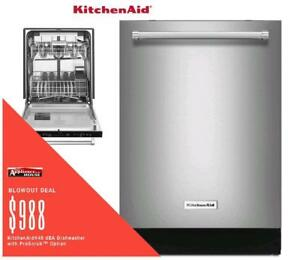 Milton Favourite ApplianceHouse has the best deals on KitchenAid Dishwashers