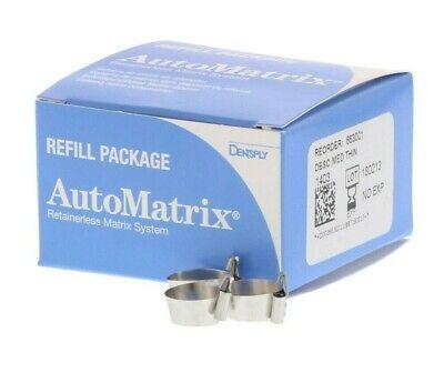 Automatrix Matrix System Refill - Medium Regular - 72bx By Dentsply Brand New