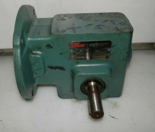 DODGE TIGEAR M0545640030S07916110BY GEAR REDUCER 15:1 RATIO 56C FR 1750 RPM