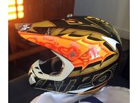 Airoh Carbon Fiber Lightweight Mx Helmet Size Medium motocross enduro