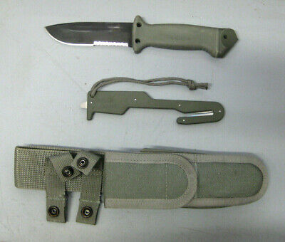 Gerber LMF II Infantry Green Fixed Blade Knife, Safety Knife,&