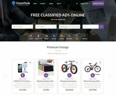 Free Advertising Classifieds Website Free Install Hosting