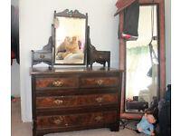 vintage/antique dressing table