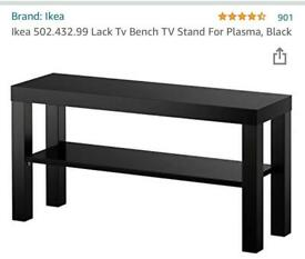 TV stand with storage space