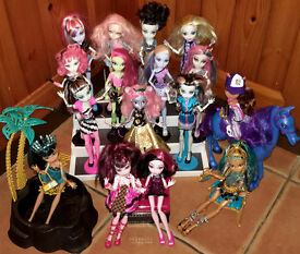 Monster High Doll Bundle with Horse/ Jacuzzi / Great Collection for Christmas