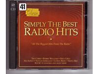 'SIMPLY THE BEST' RADIO HITS. A GREAT COMPILATION 2 CD'S