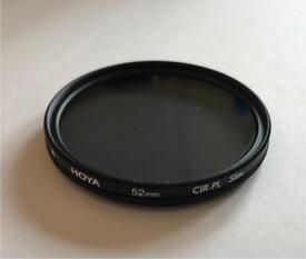 Hoya CIR-PL 52mm. Polarising filter