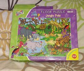 Animal Jungle jigsaw