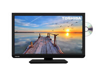 Toshiba-24-inch-HD-Ready-LED-DVD-TV-Combi built in freeview with usb in black