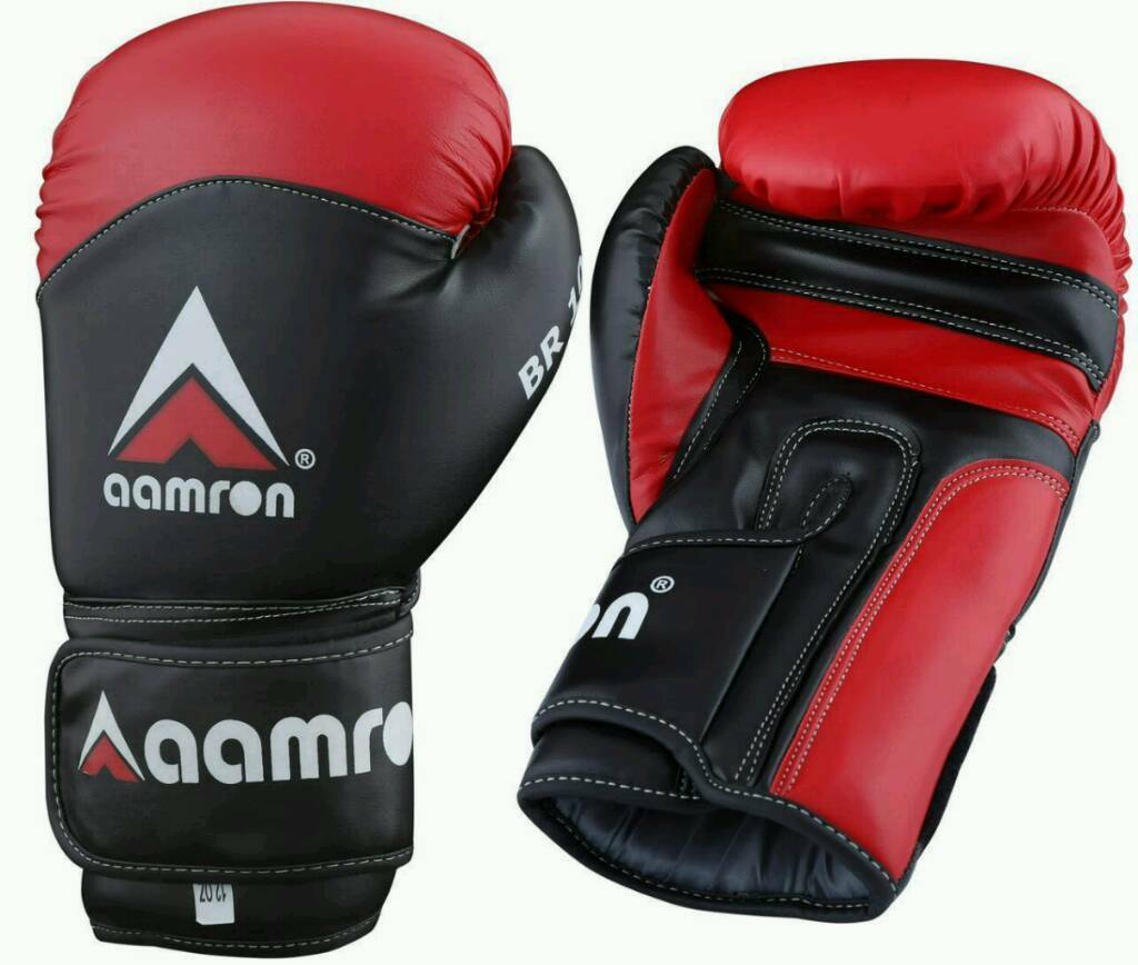 Aamron artificial boxing gloves