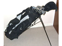 Full matched set mens right handed golf clubs & bag John Daly Hippo Ideal starter set VGC