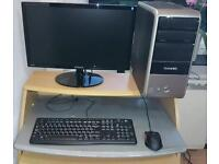 Pc, monitor, keyboard, mouse
